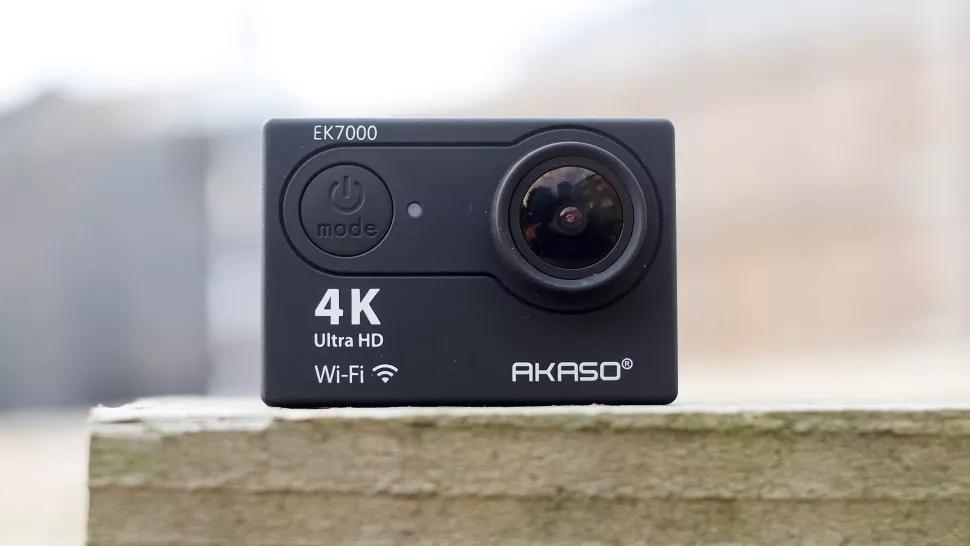 akaso ek7000 La mejor cámara de acción barata 2020