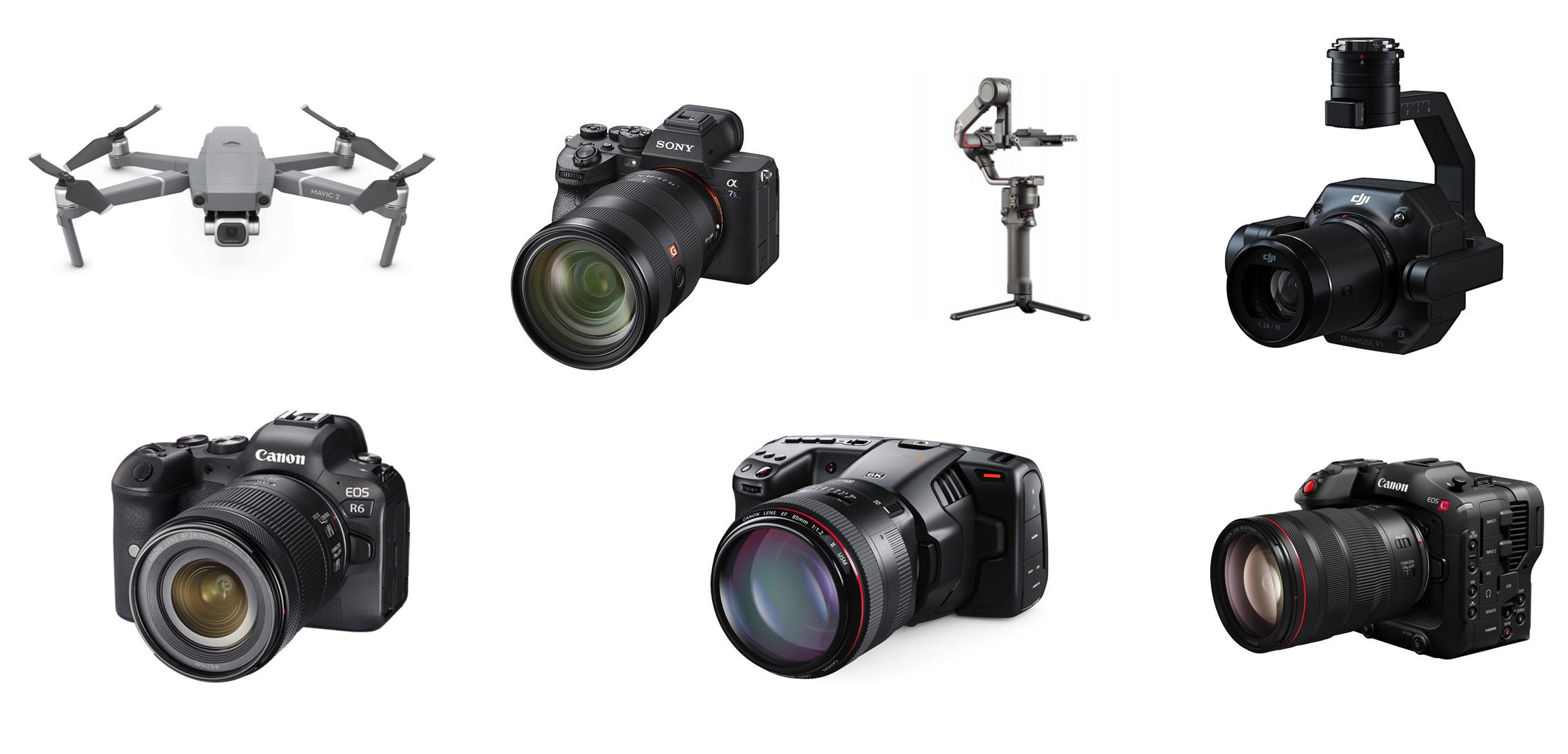Drones fotografia video