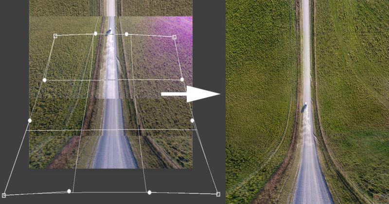 hacer fotos inception con el dron pelicula origen