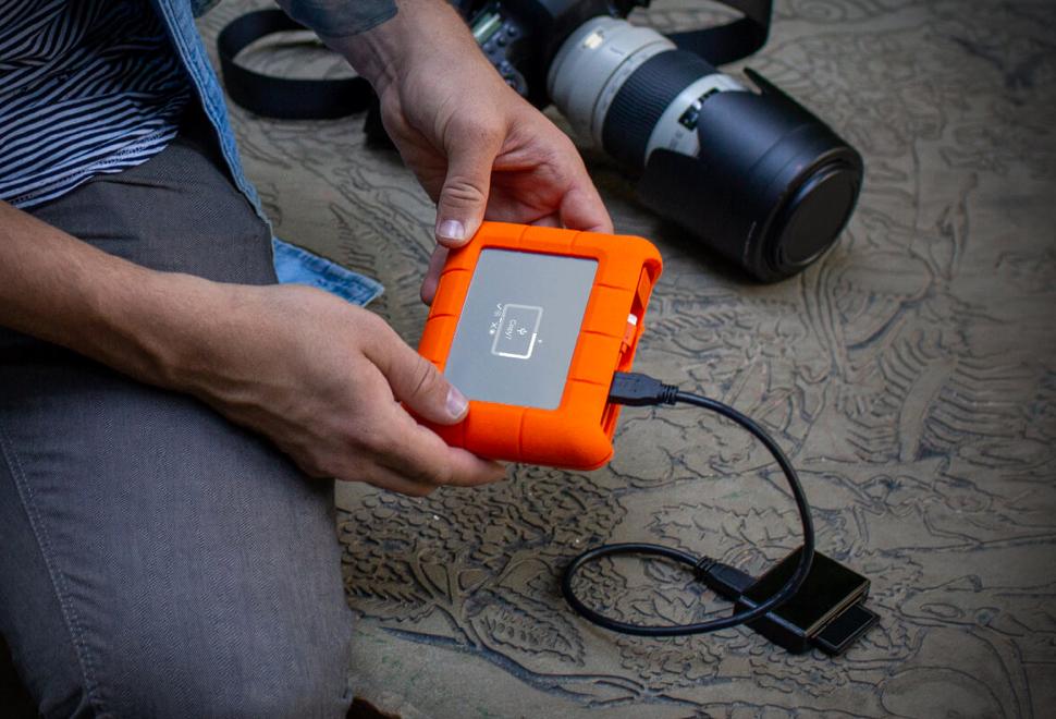 Copia de seguridad de tarjetas compact flash sin ordenador