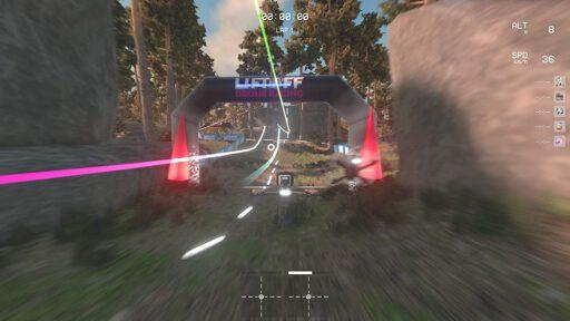 Simulador drone racing
