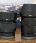 Sony FE 50mm f/1.8 vs FE 55mm f/1.8
