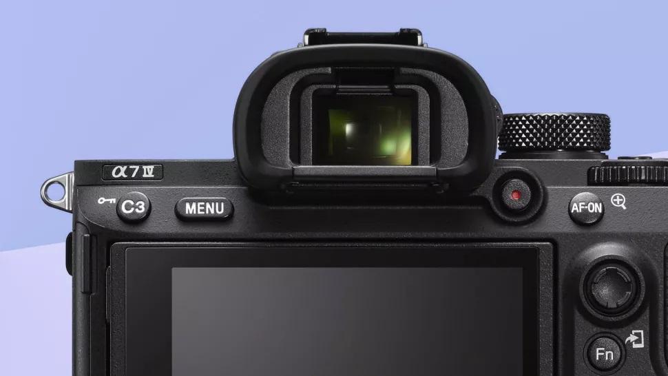 visor de la Sony A7 IV